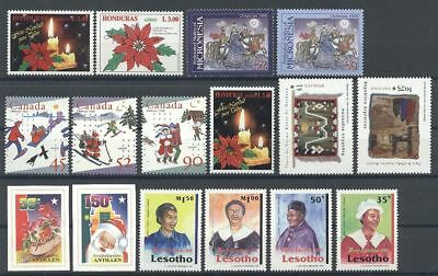 Weihnachten, Christmas - LOT ** MNH 1996