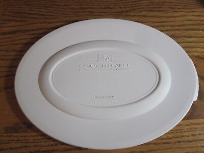 Corningware Casual Elegance Oval Replacement Snap On Plastic COVER ONLY NEW L30