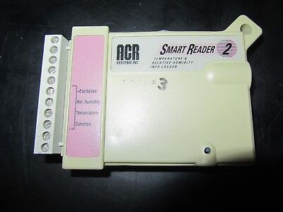 ACR Systems Smart Reader 2 Temperature & Relative Humidity Info Logger