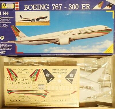 1/144 Revell Boeing 767-300 ER Gulf Air/British Airways