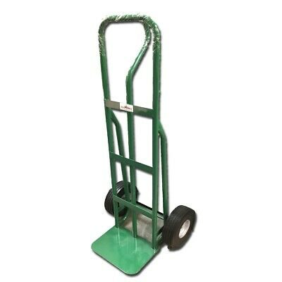 "Handtruck 53"" Steel with 10"" NEVER FLAT wheels"