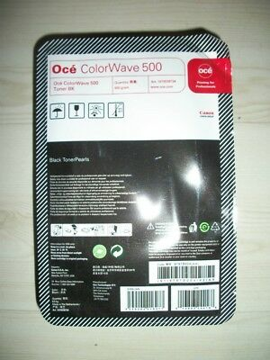 Original OCE Toner Pearls ColorWave 500 black #1070038734   NEU + OVP