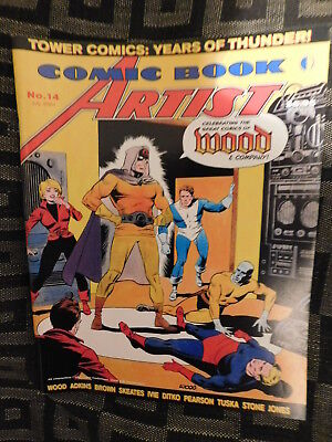 Comic Book Marketplace 14: Wallace Wood, englisch, Fachmagazin