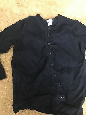 Womens Motherhood Navy Cardigan Maternity  Large