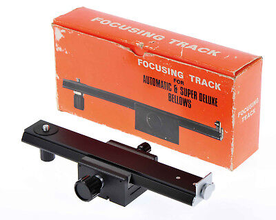 Focusing Track Rail for Automatic & Super Deluxe Bellows Macro Contax Mamiya Etc