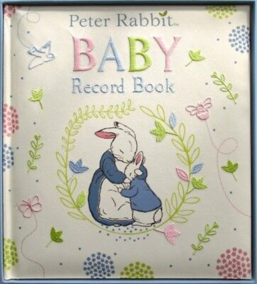 Peter Rabbit Baby Record Book (Hardcover), 9780141370033