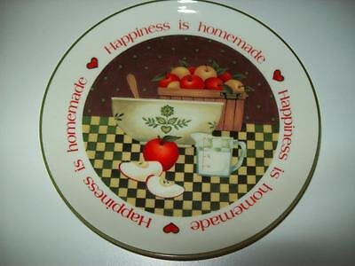 "American Greetings Lasting Memories Happiness is Homemade 6.5"" Decorative Plate"