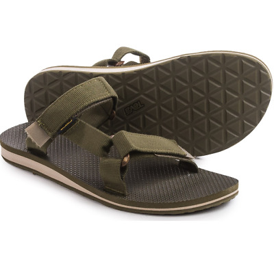 6160823b93fb New Teva Universal Strappy Slide Sandals Mens 13 Dark Olive Free Ship