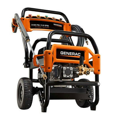 Generac 6590 3100 PSI 2.8 GPM 212 CC Wheeled Commercial Gas Pressure Washer