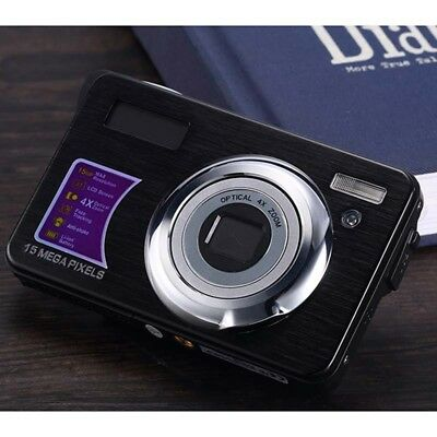 F/3.0 Digital Camera Anti-shake 18MP Vlogging Camera Auto Face Capture 4x Zoom