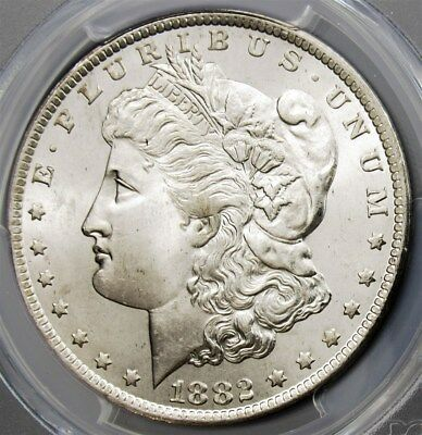1882-CC Morgan Dollar - PCGS MS65 - Certified Graded  $1 Silver Carson City Mint