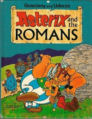 Asterix and the Romans by Uderzo Hardback Book The Cheap Fast Free Post