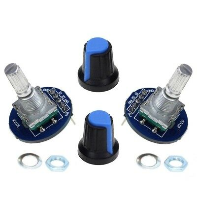 2 x Digital Rotary Encoder Module for Arduino Raspberry Pi etc with nut & washer