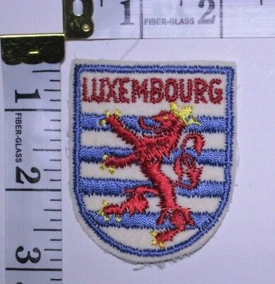 Luxembourg Souvenir Patch