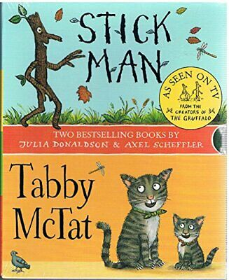 Stick Man/Tabby McTat by Julia Donaldson Book The Cheap Fast Free Post