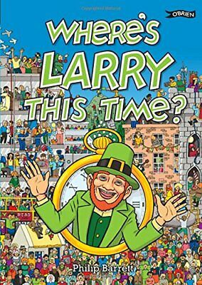 Where's Larry This Time? by Mahon, Ken Book The Cheap Fast Free Post