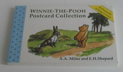 Winnie-the-Pooh Postcard Collection by Milne, A. A. Postcard book or pack Book