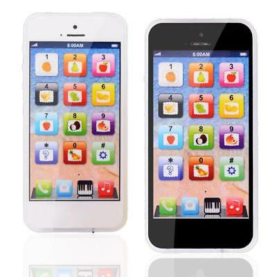 iphone Toy Kids Toddler Child Play Call Mobile Cell Phone Game Cute Learn Toys