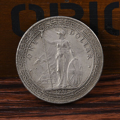 1911 One Yuan Tibetan Warrior Ancient Silver Dollar Coins Gift Crafts Pro