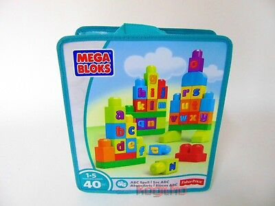Fisher Price Mega Bloks ABC Bausteine