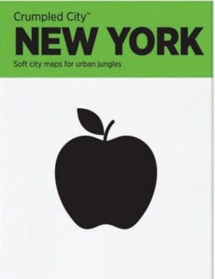 New York Crumpled City Map, Designed by Emmanuele Pizzolorusso, 9788890426445