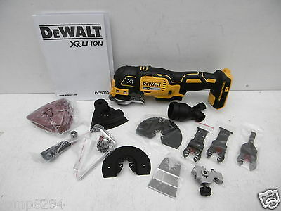 Dewalt Dcs355 Xr 18V Oscillating Multi Tool Bare Unit + 32Pce Set & Fitments