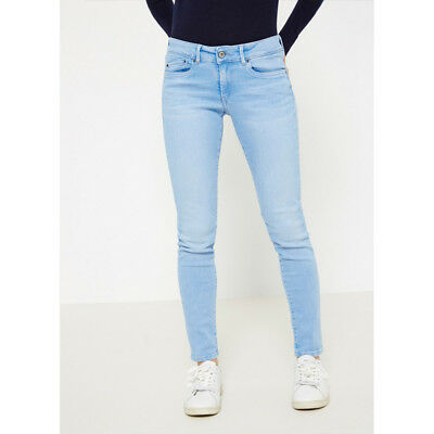 ccdaadc1b87d Jeans donna Pepe Jeans PIXIE PL200025S342 skinny fit pantalone chiaro 25 26  27