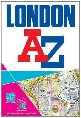 London 2012 Street Atlas - Geographers' A-Z Map Company - Acceptable - Paperback