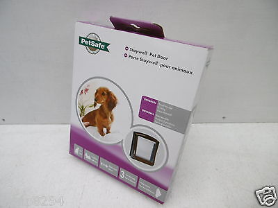 Staywell Petsafe 715Ef Original Classic 2 Way Pet Door Cat Or Dog Flap White