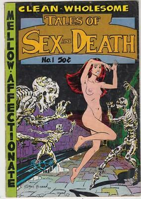 Tales of Sex and Death # 1 strict FN artist S. Clay Wilson Back Cover