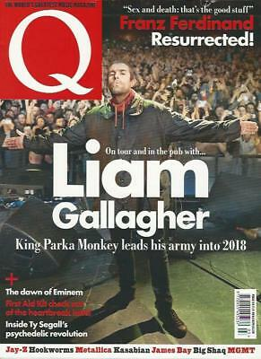 Q MAGAZINE -  March 2018 (NEW) *Post Included to UK/Europe/USA/Canada