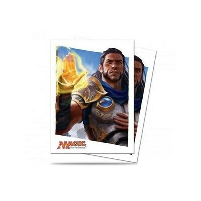 MTG Magic the Gathering Sleeves - Oath of the Gatewatch - Gideon (80 sleeves)