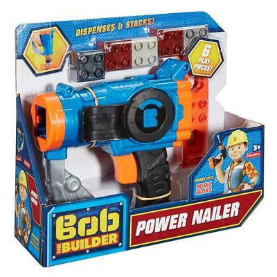 Bob The Builder Power Nailer Kids Play Set Fisher Price Toy