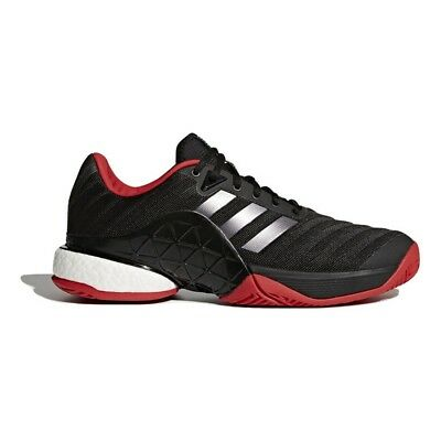 Adidas Mens Barricade Boost 2018 Tennis Shoes Trainers - NEW - *UK 8-11*