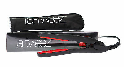 Ceramic Mini Hair Straighteners & Styler By La-Tweez For Holidays & Travel