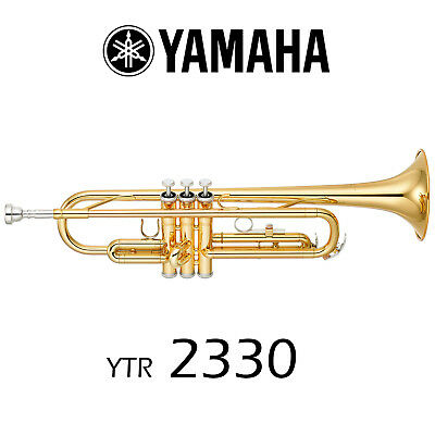 Yamaha YTR-2330 Trumpet | Gold Lacquer | Free Shipping!