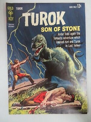 Turok Son of Stone #35 (1963) Gold Key Silver Age VF to VF+ 8.0-8.5 CB181