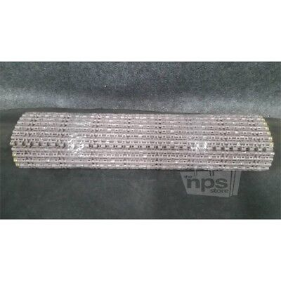 Rexnord HP1505-24in Mattop Chain 5ft Polypropylene Straight Running Solid Top