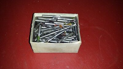LOT OF 20 1/4 inch END MILLS for you milling machine mill drill cut cutters