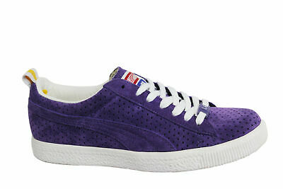 PUMA X UNDEFEATED Clyde Gametime La Lakers Violet White Team Yellow ... 7e1be043f