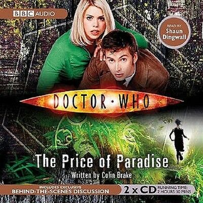 DOCTOR WHO  -  PRICE  OF  PARADISE   -   new  2cd  audio  book   sealed