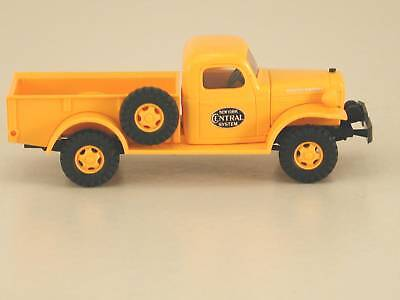HO Busch NYC New York Central 1950's Railroad Dodge Power Wagon : 1/87 Truck