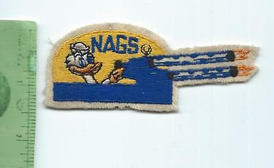 WWII USN US Navy  NAGS Naval Air Gunnery School patch