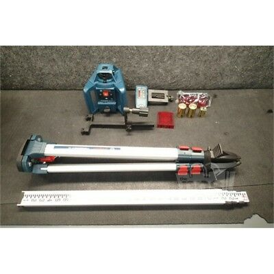 Bosch GRL240 HVCK-RT Factory Reconditioned Self-Leveling Rotary Laser Level Kit*