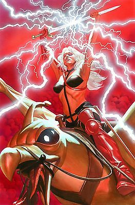 ALEX ROSS rare HEAVY METAL: TAARNA AP paper giclee SIGNED NEW SDCC 2017