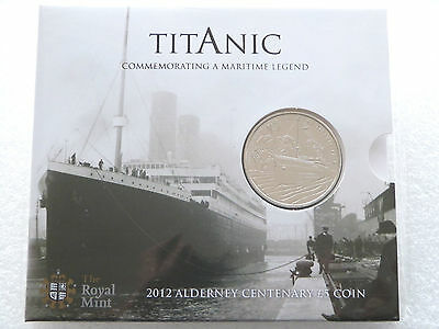 2012 Royal Mint Titanic 100th Anniversary £5 Five Pound Coin Pack Sealed