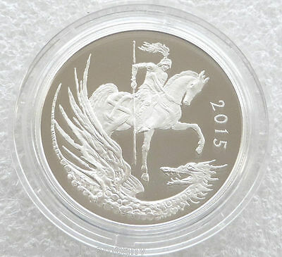 2015 Prince George Second Birthday £5 Five Pound Silver Proof Coin Box Coa