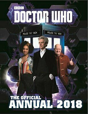 Doctor Who: Official Annual 2018 by BBC Book The Cheap Fast Free Post