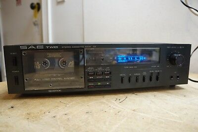 SAE TWO C2 Stereo Cassette Deck