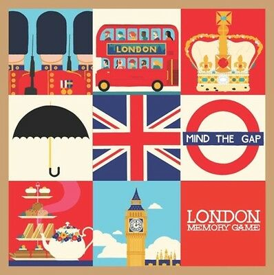 London Memory Game, Heo, Min, 9781623260439